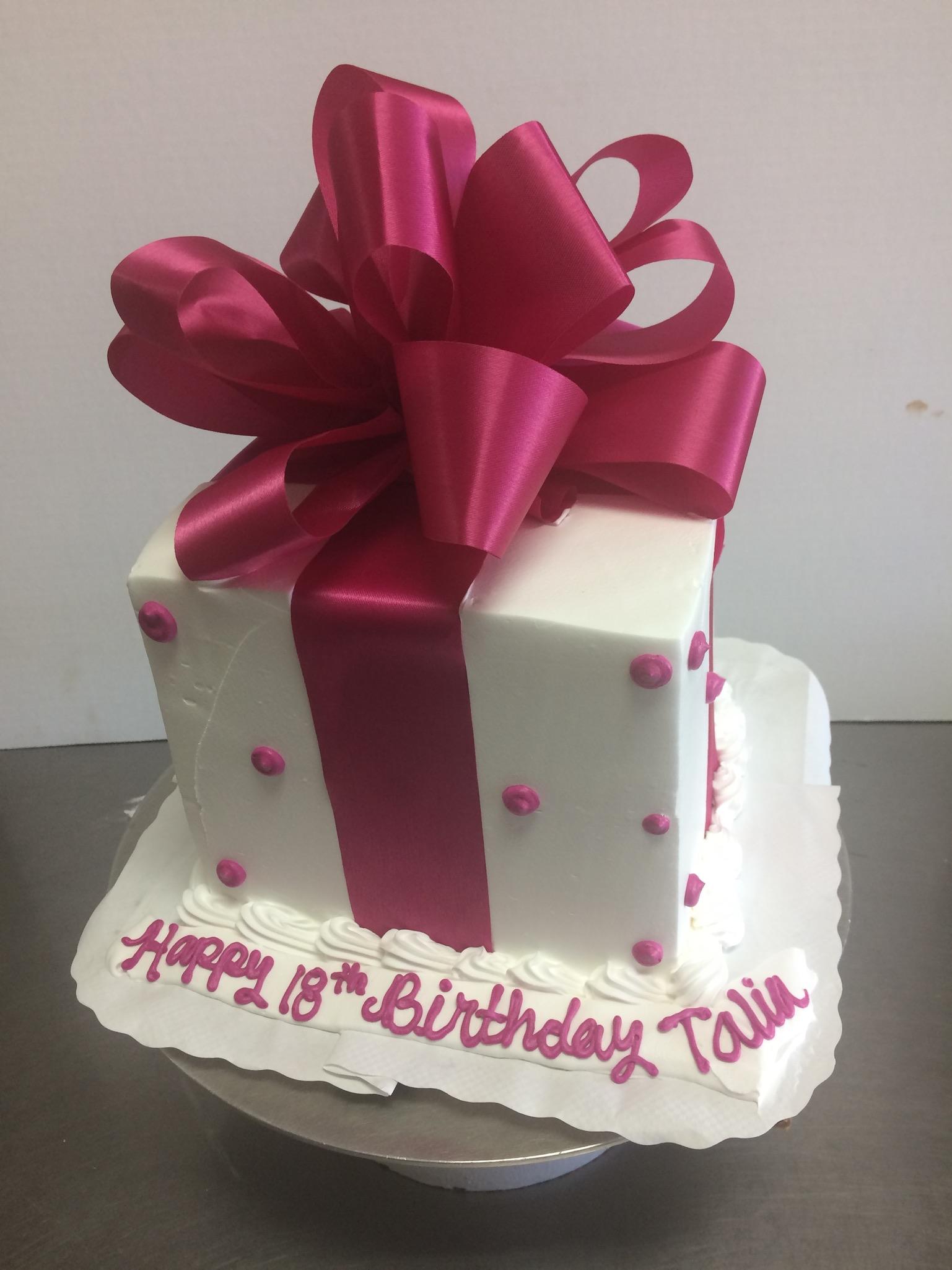 6 Square 7 Layer Cake Serves 20